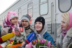 Лана Прусакова вернулась с Олимпиады домой Лана Прусакова олимпиада