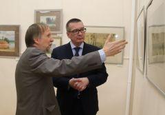 В Новочебоксарске открылась выставка «Академия акварели. Александр Мухин-Чебоксарский и ученики» Выставка