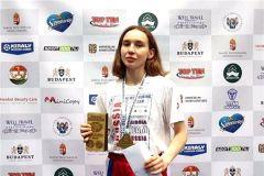 П. Петухова в Будапеште. Фото: cap.ruПредставительница Чувашии Полина Петухова одержала победу на Кубке мира по кикбоксингу кикбоксинг