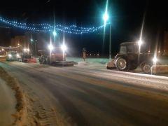 В Новочебоксарске устранили последствия сильнейшего снегопада