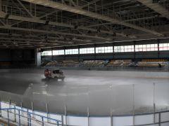 """zalivka_lda.jpgВ """"Соколе"""" начали заливать лед реконструкция сокол"""