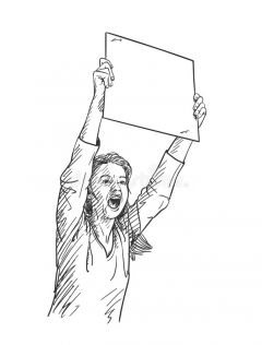 АкцияПротест по карману: в Чебоксарах начали штрафовать участников незаконного митинга Акция протеста