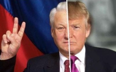Загадка Ельцина и Трампа Трамп США россия Ельцин выборы