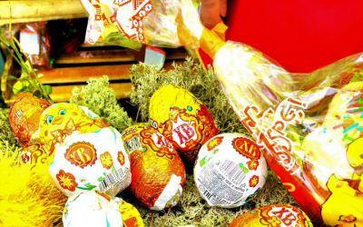 Со Светлой Пасхой... Весна.Соборная площадь куличи пасхальные яйца пасхальные сувениры.