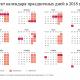 Как будем отдыхать в 2018 году: о переносе дней отдыха