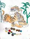 Тигр с монетами