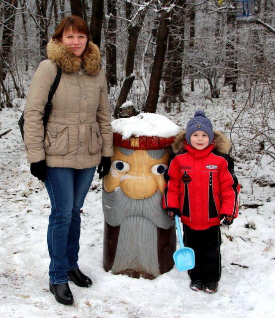 Эдуард Ремнев с мамой Оксаной