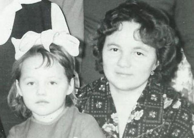 Елена Скворцова с мамой Надеждой Сергеевной Гусаровой