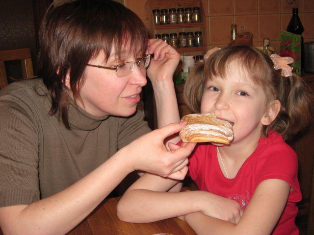 Ксения Петрова с мамой Юлией Викторовной Котовой