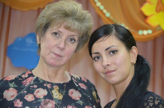 Ольга Козлова с мамой Наталией Борисовной