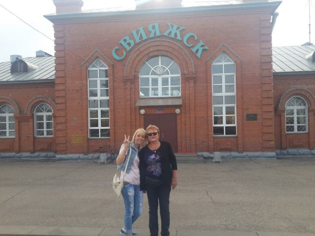 Олеся Прокопьева с мамой Татьяной Николаевной Карповой