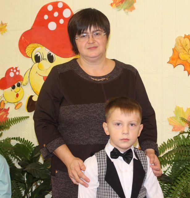 Ваня Цапин с мамой Надеждой
